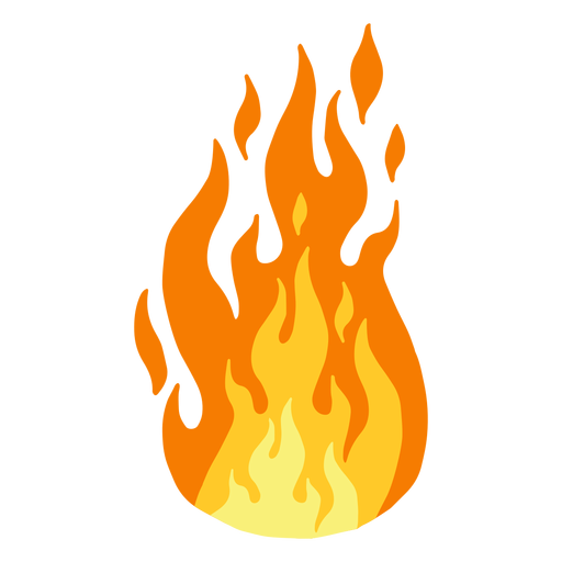 Transparent png svg vector. Flame fire clipart