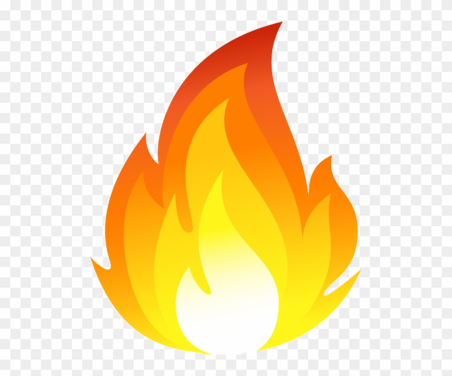 Flame fire clipart. Free home furnace png