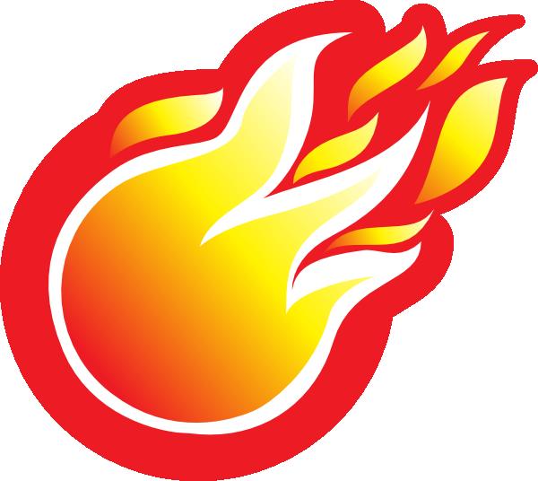 Flame heart clipart clip royalty free stock Fire Ball Icon Clip Art at Clker.com - vector clip art online ... clip royalty free stock