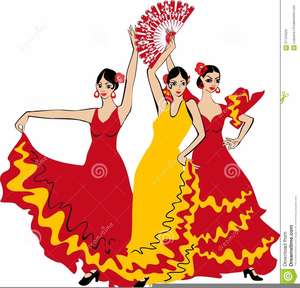 Free images at clker. Flamenco clipart