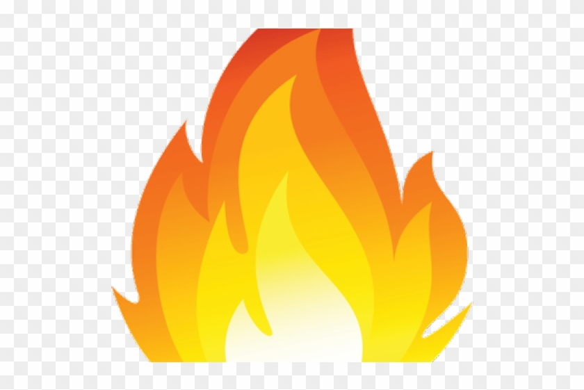 Picture of flames clipart picture library stock Fire Flames Clipart Single Flame - Llama De Fuego Emoji, HD Png ... picture library stock
