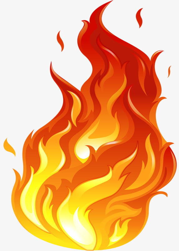 Station . Flames clipart png