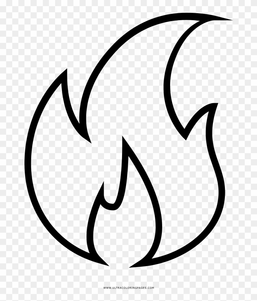 Flames in a circle patterns clipart black and white free clip freeuse Black And White Flame Transprent Png Free - Flames Fire Clipart ... clip freeuse