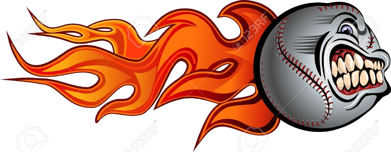 Flaming baseball clipart jpg library Flaming Baseball Clip Art – Clipart Free Download jpg library