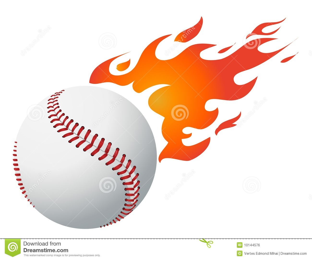 Flaming baseball clipart banner free download Baseball Stock Illustrations – 14,856 Baseball Stock Illustrations ... banner free download