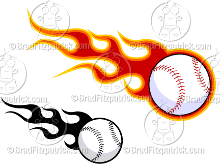 Flaming baseball clipart clip art freeuse Flaming Baseball Clipart - Clipart Kid clip art freeuse