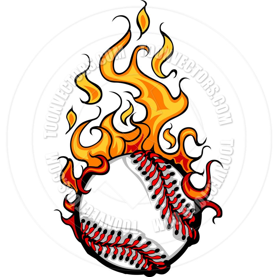 Flaming baseball clipart clipart freeuse stock Flaming Baseball Clipart - Clipart Kid clipart freeuse stock