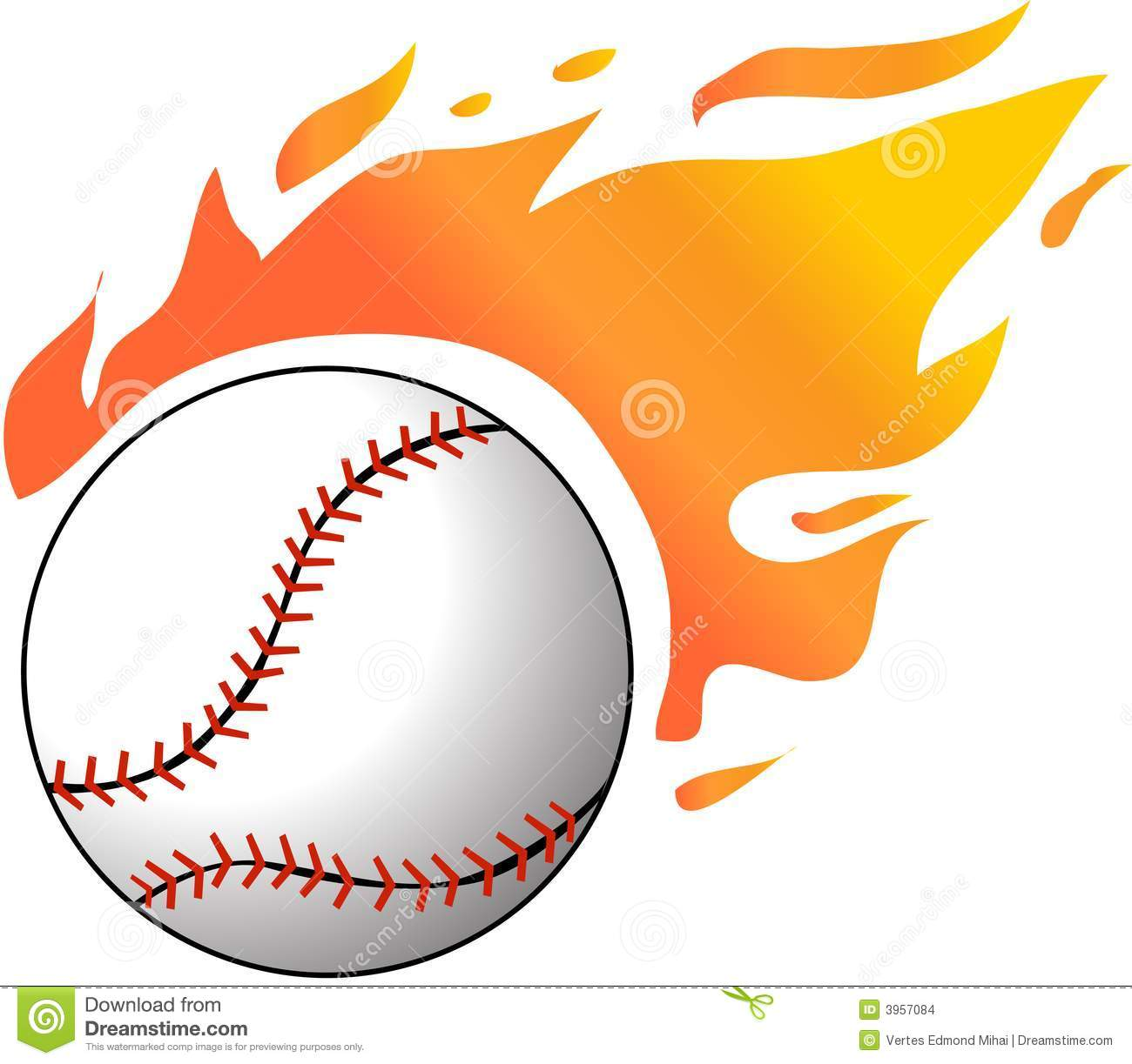Flaming baseball clipart svg free Flaming Baseball Clipart - Clipart Kid svg free