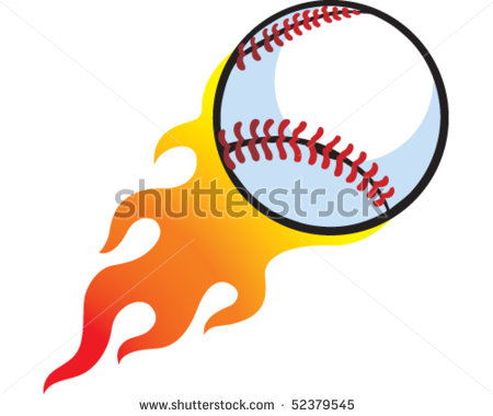 Flaming baseball clipart banner transparent library Baseball with flames clipart - ClipartFest banner transparent library