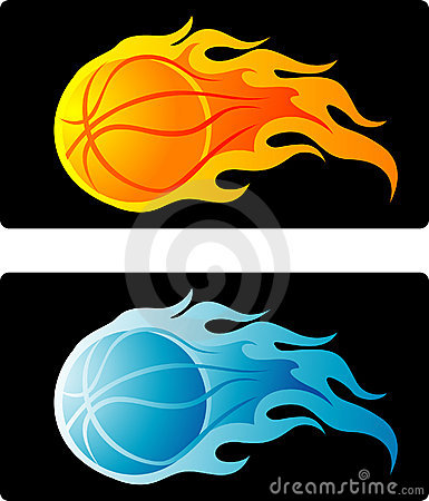 Flaming basketball clipart jpg library stock Flaming Basketball Stock Images - Image: 12232244 jpg library stock