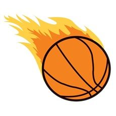 Flaming basketball clipart clip library stock 17 Best images about Basketball Treat Bags | Clip art, Art and ... clip library stock