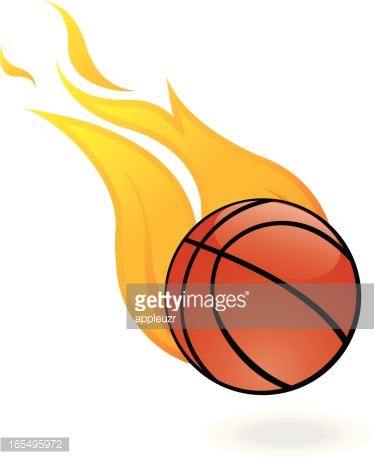 Flaming basketball clipart picture royalty free library Flaming Basketball On Badges Set Vector Art | Getty Images picture royalty free library