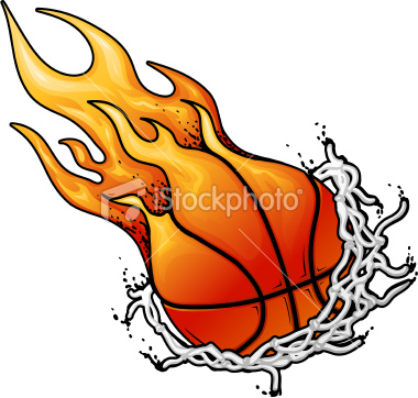 Flaming basketball clipart graphic stock Flaming Basketball Net Clipart - Clipart Kid graphic stock