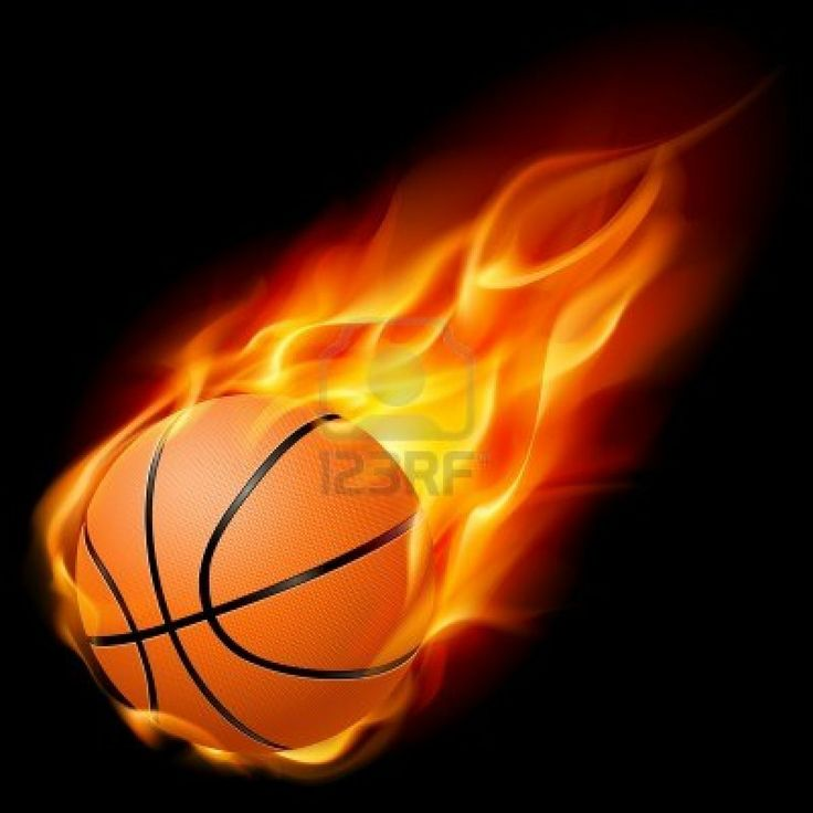 Flaming basketball clipart graphic freeuse 17 Best images about Basketball on Pinterest | Black backgrounds ... graphic freeuse