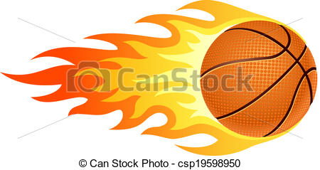 Flaming basketball clipart graphic black and white Flaming basketball Illustrations and Clip Art. 480 Flaming ... graphic black and white