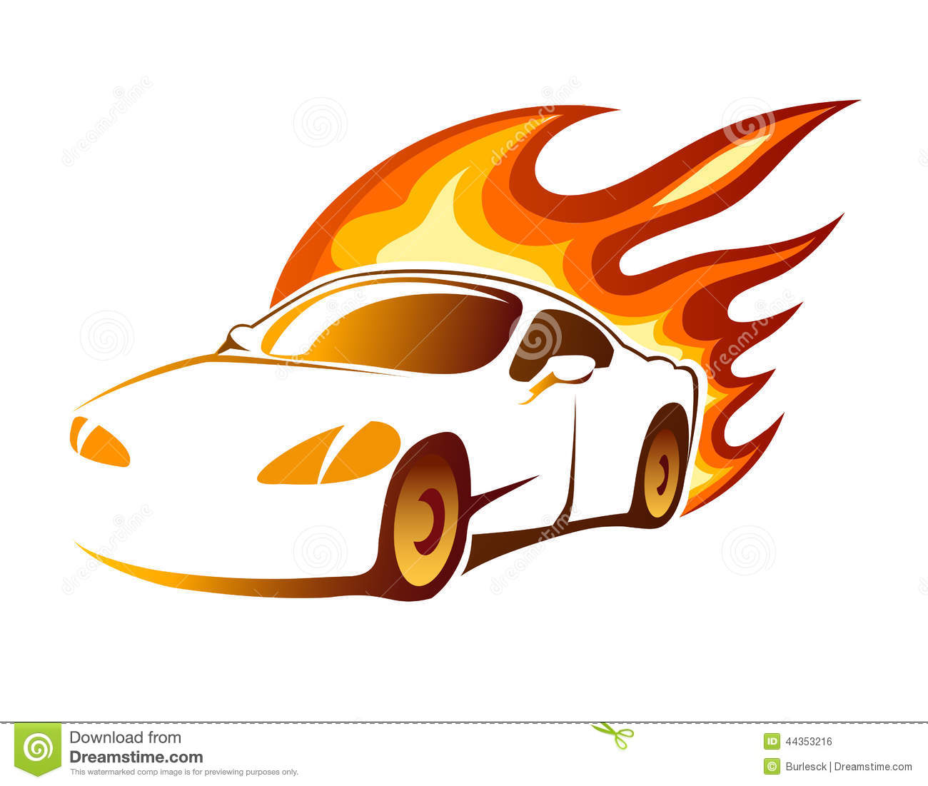 Flaming car clipart clipart royalty free Flaming car clipart - ClipartFest clipart royalty free