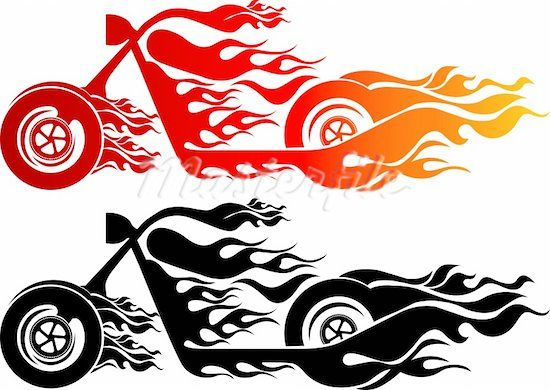 Flaming car clipart image free library 17 Best images about * Transportation Silhouettes, Vectors ... image free library