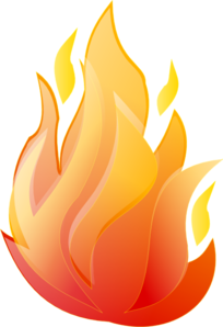 Flaming clipart clipart black and white stock Flame Clip Art Free | Clipart Panda - Free Clipart Images clipart black and white stock