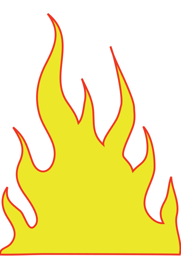 Flame heart clipart png free download Flaming car clipart - ClipartFest png free download