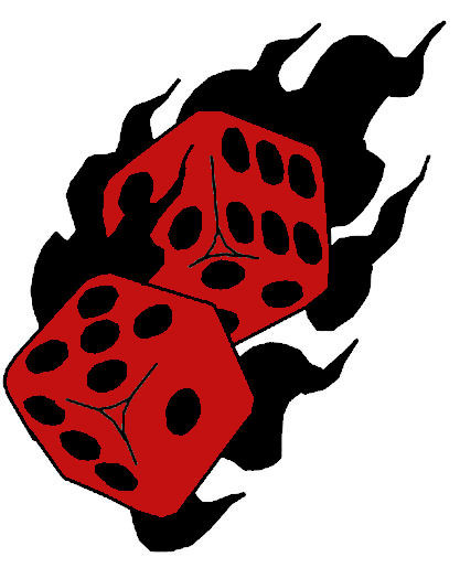 Flaming dice clipart 3 clipart free stock Flaming dice clipart 3 - ClipartFest clipart free stock