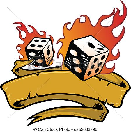 Flaming dice clipart 3 clip royalty free stock Flaming Illustrations and Clip Art. 127,000 Flaming royalty free ... clip royalty free stock