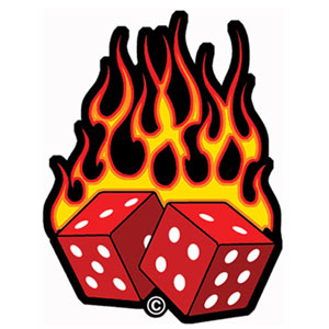 Flaming dice clipart 3 picture Flaming dice clipart 3 - ClipartFest picture