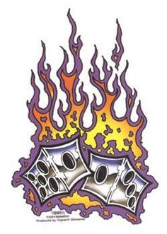 Flaming dice clipart 3 clipart library download Flaming Dice | flaming dice Tattoo | Dice | Pinterest | My tattoo ... clipart library download