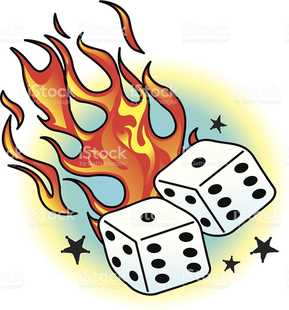 Flaming dice clipart 3 clip art freeuse download Flaming dice clipart 3 - ClipartFox clip art freeuse download