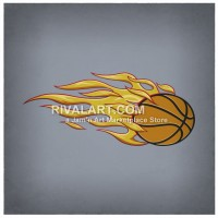 Flaming dunker photo clipart svg library download Free Premium Cliparts - ClipartFest svg library download