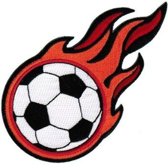 Flaming football clipart vector free Flaming Soccer Ball Clip Art | Clipart Panda - Free Clipart Images vector free