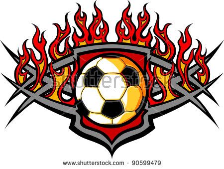 Flaming football clipart black and white download Flaming soccer ball clip art free vector download (210,187 Free ... black and white download