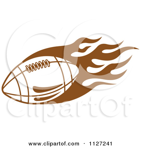 Flaming football clipart clip art library stock Royalty-Free (RF) American Football Clipart, Illustrations, Vector ... clip art library stock