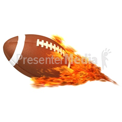 Flaming football clipart png transparent library Football Flaming - Sports and Recreation - Great Clipart for ... png transparent library