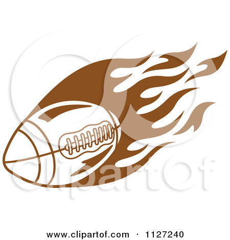 Flaming football clipart picture library download Flaming Football Clipart - Clipart Kid picture library download
