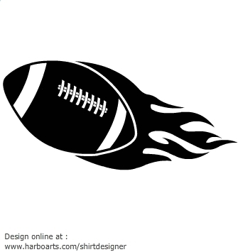 Flaming football clipart graphic royalty free stock Football with flames clipart - ClipartFest graphic royalty free stock