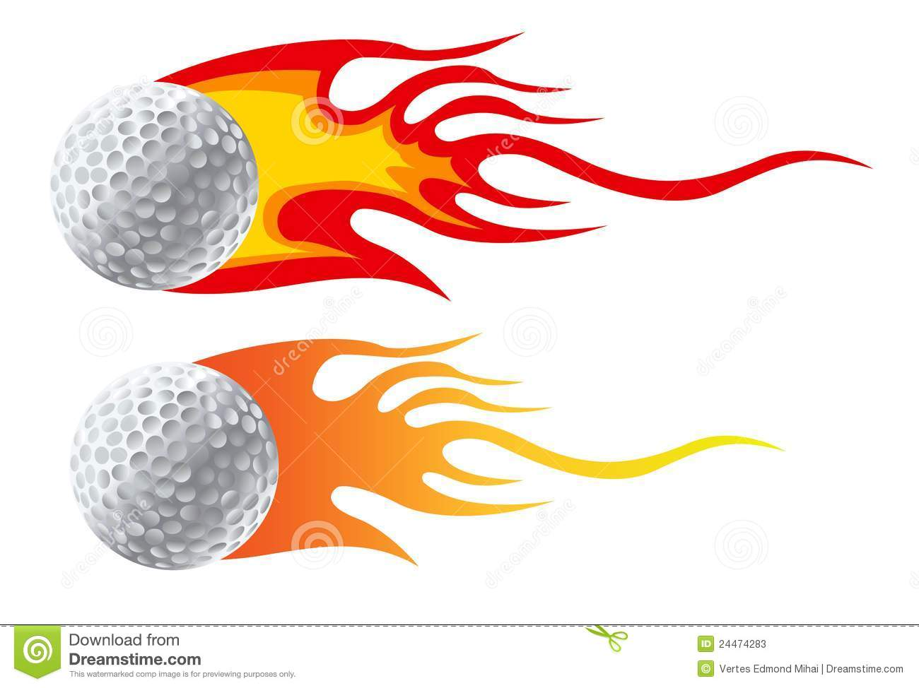 Flaming golf ball clipart image freeuse download Flaming golf ball clipart - ClipartFest image freeuse download