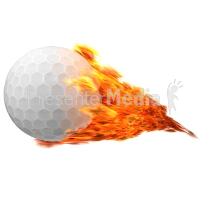 Flaming golf ball clipart svg royalty free library Golfball Flaming - Sports and Recreation - Great Clipart for ... svg royalty free library