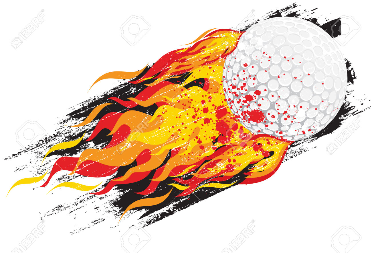 Flaming golf ball clipart clipart Flaming Golf Ball Royalty Free Cliparts, Vectors, And Stock ... clipart
