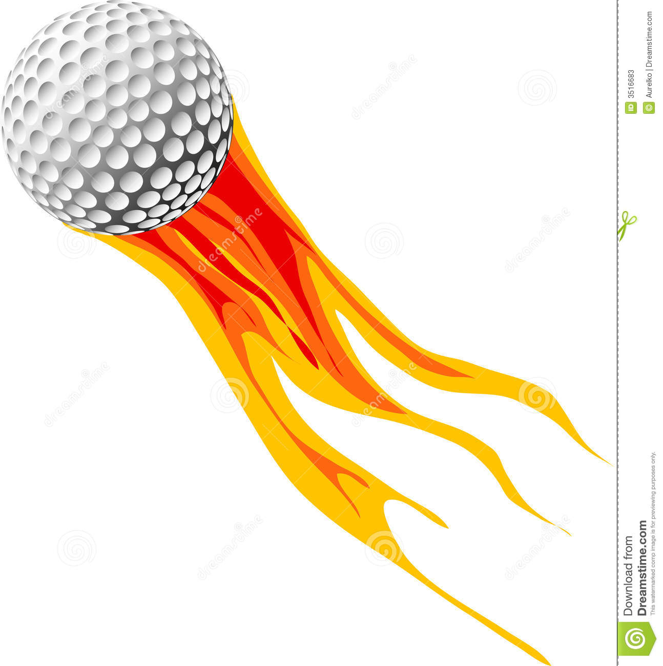 Flaming golf ball clipart vector freeuse stock Flaming golf ball clipart - ClipartFest vector freeuse stock