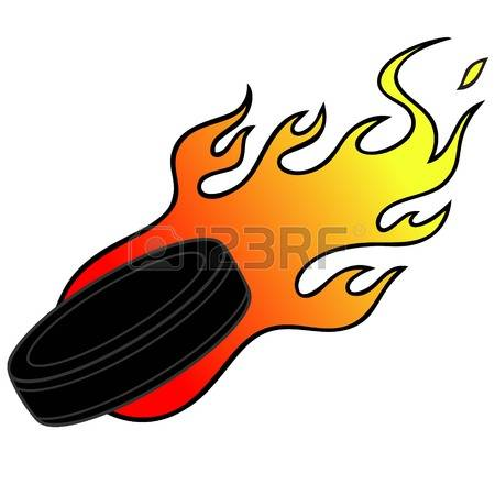 Flaming hockey puck clipart svg stock 80 Hockey Flame Stock Illustrations, Cliparts And Royalty Free ... svg stock