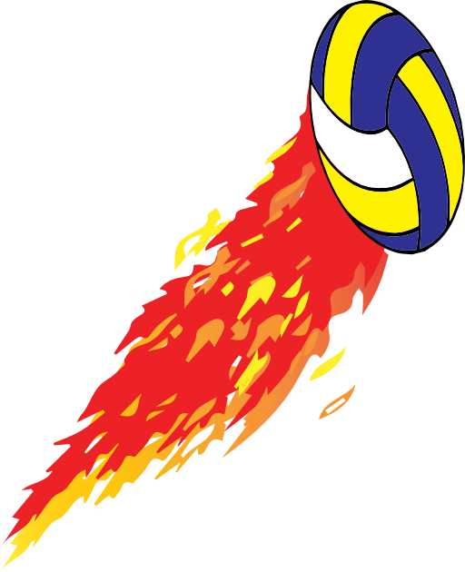 Flaming money clipart image free download Flamed Volleyball Clipart | i2Clipart - Royalty Free Public Domain ... image free download