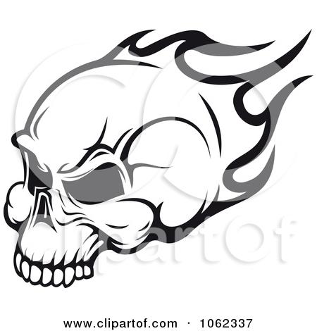 Flaming skull clip art vector royalty free download Royalty-Free (RF) Clipart of Flaming Skulls, Illustrations, Vector ... vector royalty free download