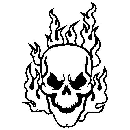 Flaming skull clipart jpg royalty free download Pics Of Flaming Skulls   Free Download Clip Art   Free Clip Art ... jpg royalty free download
