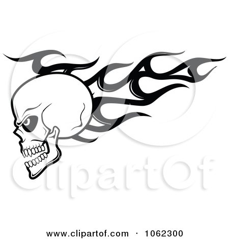 Flaming skull clipart svg freeuse stock Royalty-Free (RF) Flaming Skull Clipart, Illustrations, Vector ... svg freeuse stock