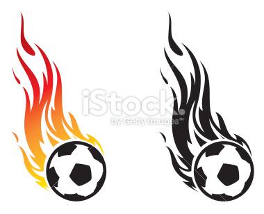 Flaming soccer ball clip art freeuse stock Flaming Ball Clipart - Clipart Kid freeuse stock