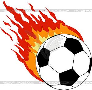 Flaming soccer ball clip art vector transparent library Soccer balls on fire clipart - ClipartFest vector transparent library