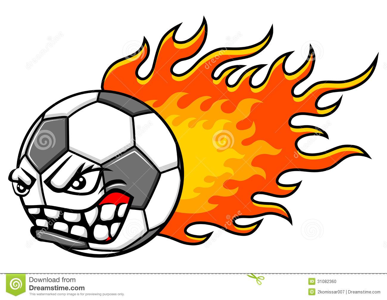 Flaming soccer ball clip art jpg library Flaming Ball Clipart - Clipart Kid jpg library