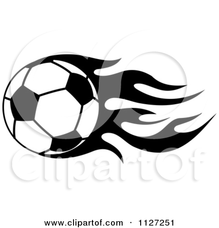 Flaming soccer ball clip art clipart black and white library Royalty-Free (RF) Flaming Soccer Ball Clipart, Illustrations ... clipart black and white library