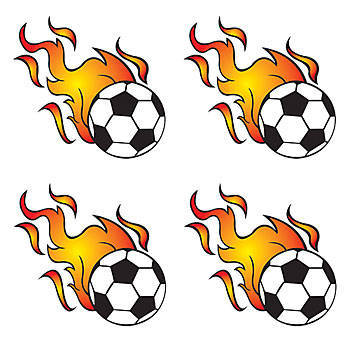 Flaming soccer ball clipart image freeuse Flaming Soccer Ball - ClipArt Best image freeuse
