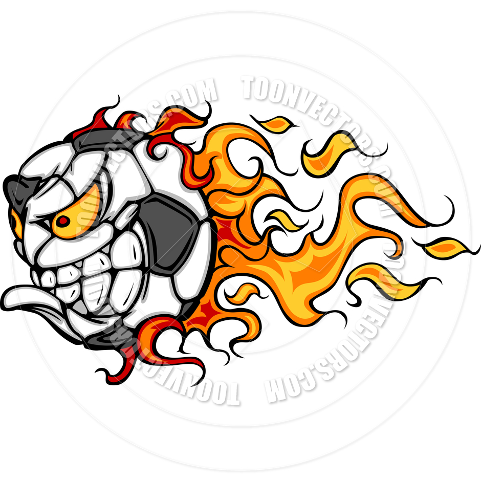 Flaming soccer ball clipart graphic library library Flaming Soccer Ball Pictures | Clipart Panda - Free Clipart Images graphic library library